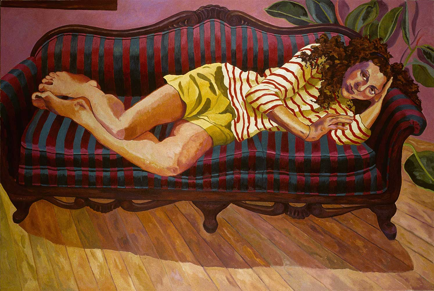 Hilary, Figurative oil painting by Mary Alice Copp