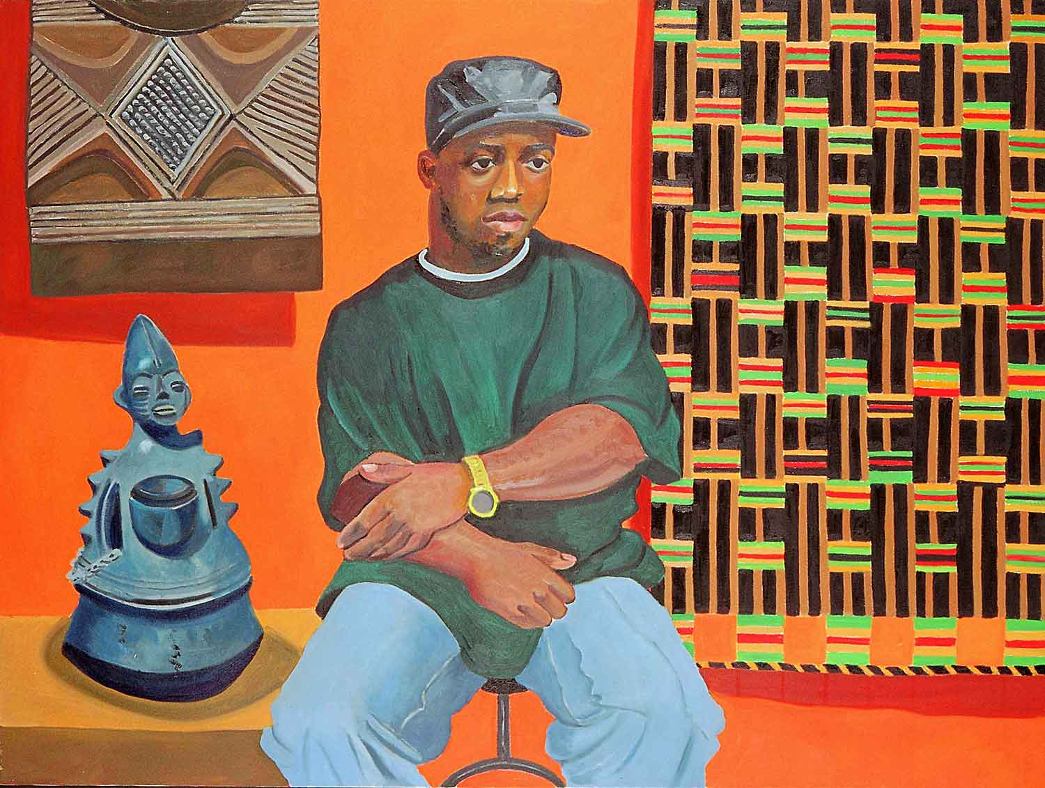 Kerby Dort, Portraits of Science Explorers, Newark, Oil on canvas, Mary Alice Copp