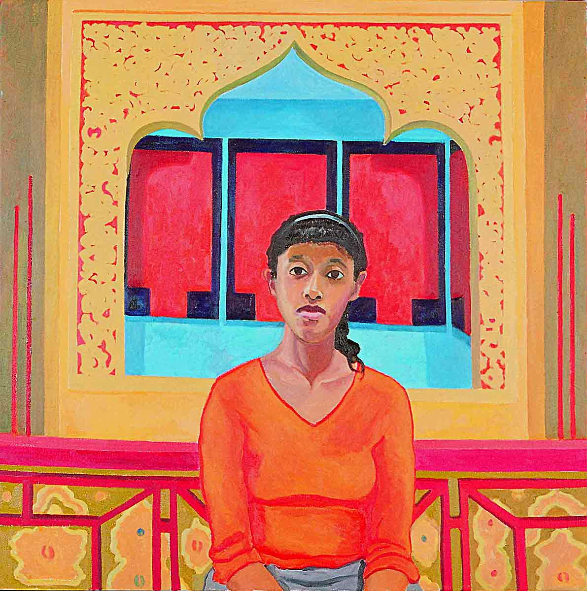Catherine Small, Portraits of Science Explorers, Newark, Oil on canvas, Mary Alice Copp
