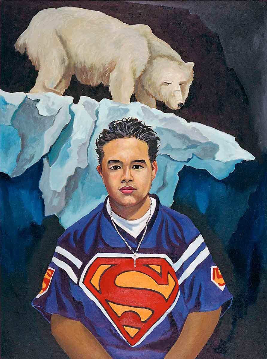Erick Nunez, Portraits of Science Explorers, Newark, Oil on canvas, Mary Alice Copp