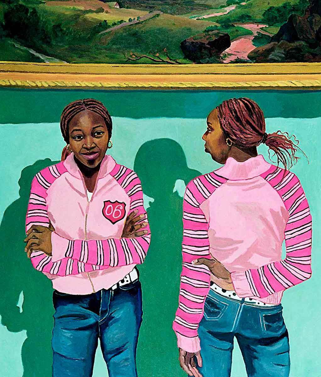 Anastasia Clervil, Portraits of Science Explorers, Newark, Oil on canvas, Mary Alice Copp